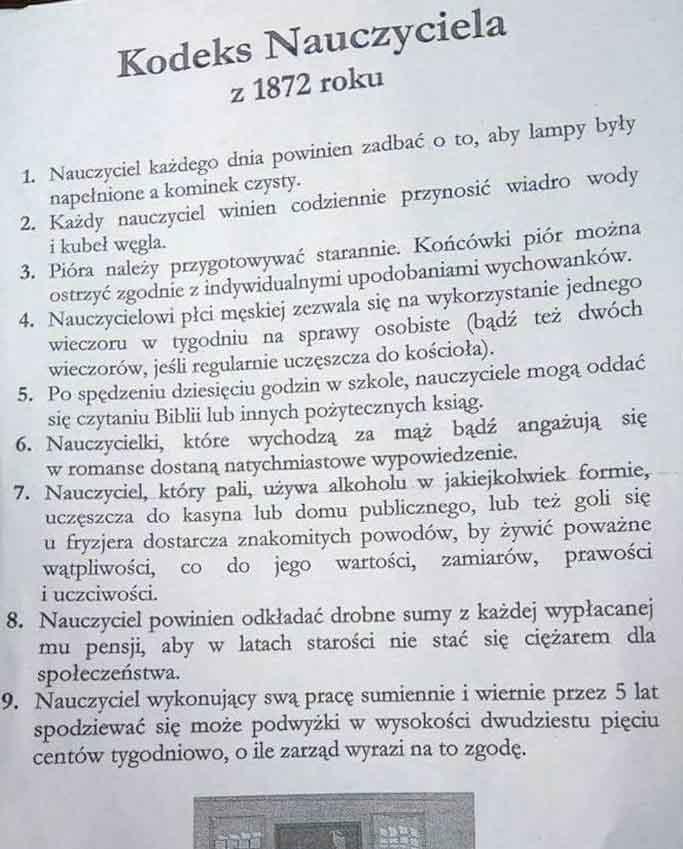 Kodeks nauczyciela