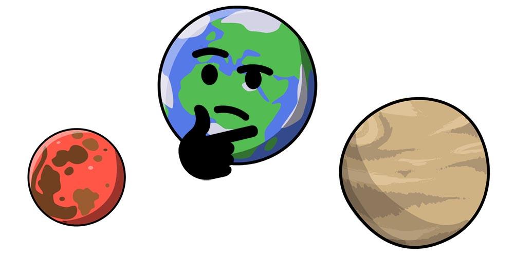 Mars czy Wenus?