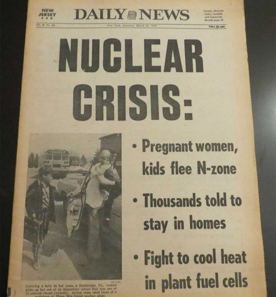 """""""Daily News"""" o awarii w elektrowni jądrowej"""