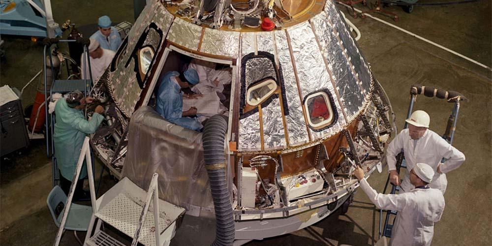 Miejsce katastrofy Apollo 1