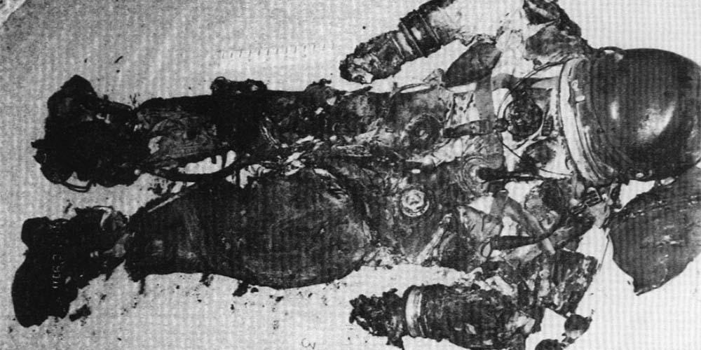 Roger Chaffee zginął w teście Apollo 1