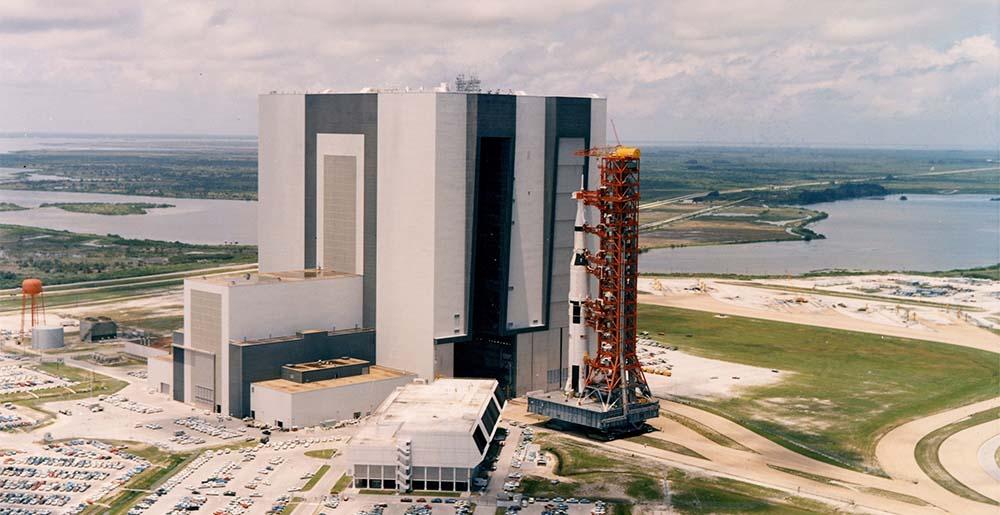 Hala VAB stanowiąca serce programu Apollo