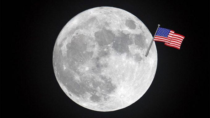 Jak to było z flagą na Księżycu?
