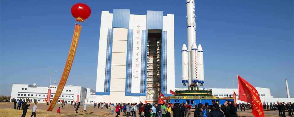 Chiński port kosmiczny Jiuquan