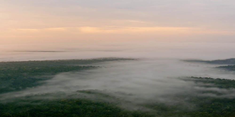 Latająca rzeka nad Amazonią