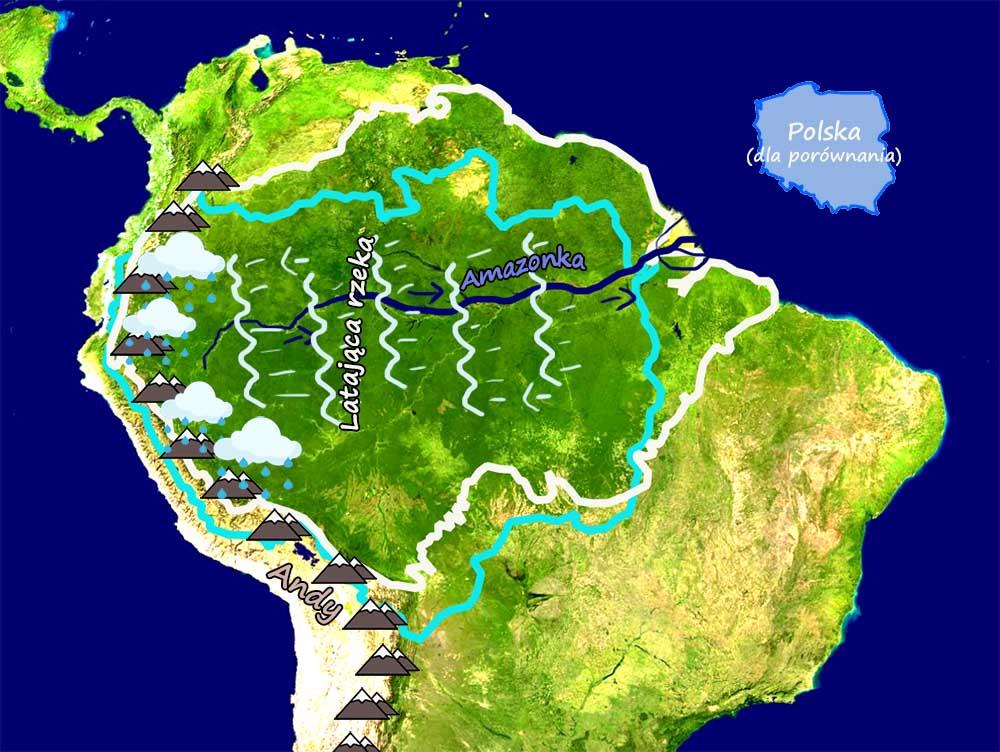 Amazonka a klimat Ameryki