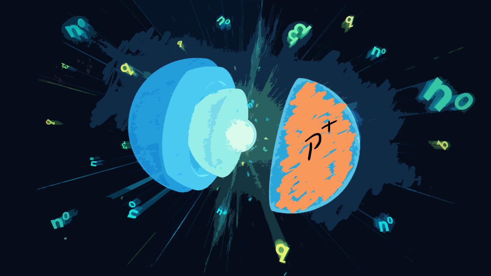 gwiazdka protonowa