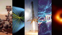 10 naukowych wydarzeń na pożegnanie lat dziesiątych XXI wieku