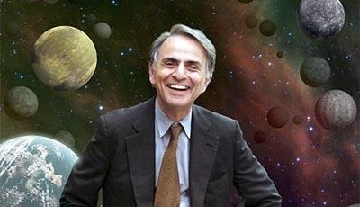 C. Sagan: Wszechświat nie dlanas
