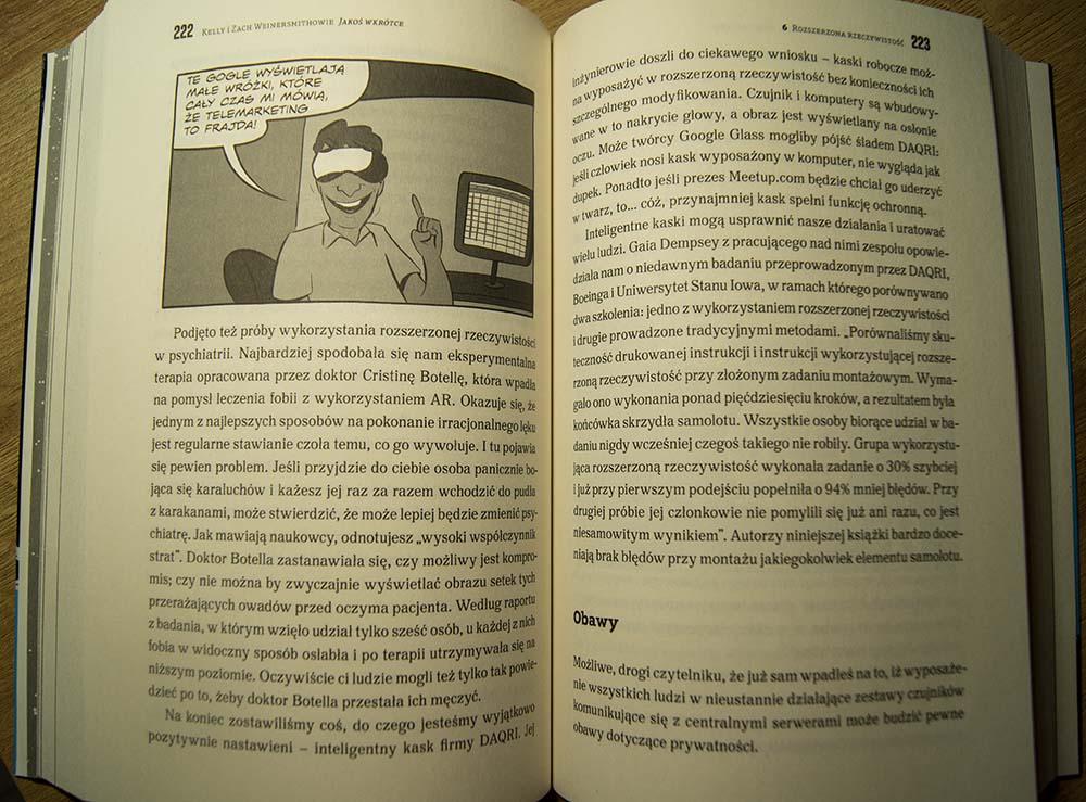 """Fragment książki """"Jakoś wkrótce""""."""