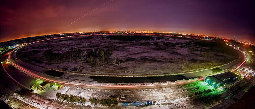 Tevatron, czyli zamknięty akcelerator cząstek Fermilabu