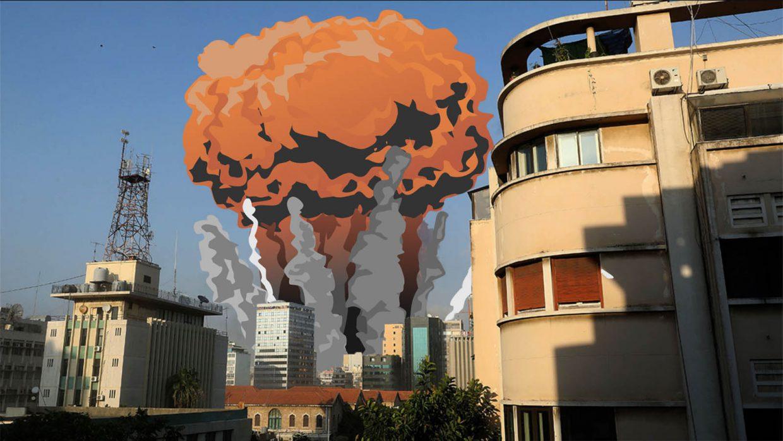 Jaką siłę miała eksplozja w Bejrucie?