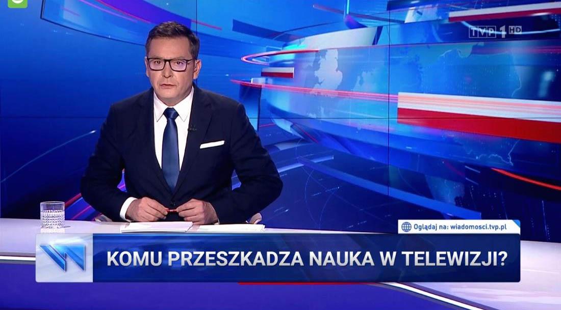 Polska telewizja o Noblach
