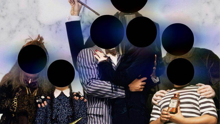 Portret rodzinny czarnych dziur