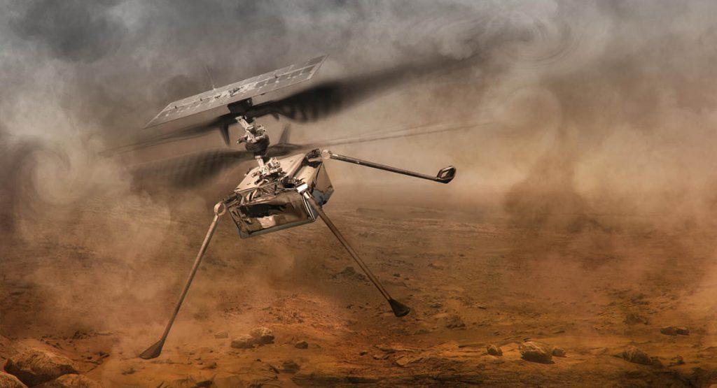 Dron marsjański Ingenuity