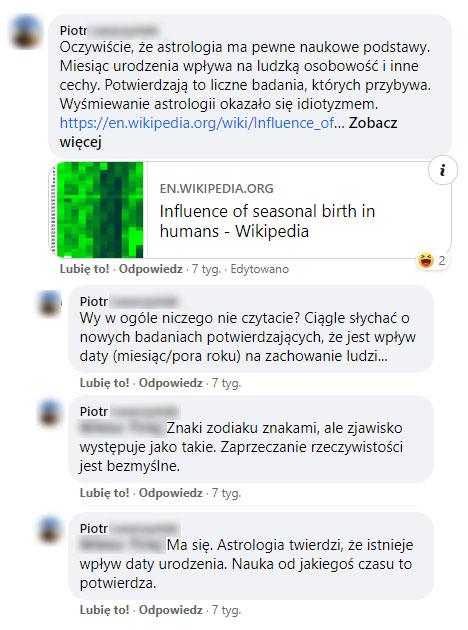 Astrologia nie jest nauką
