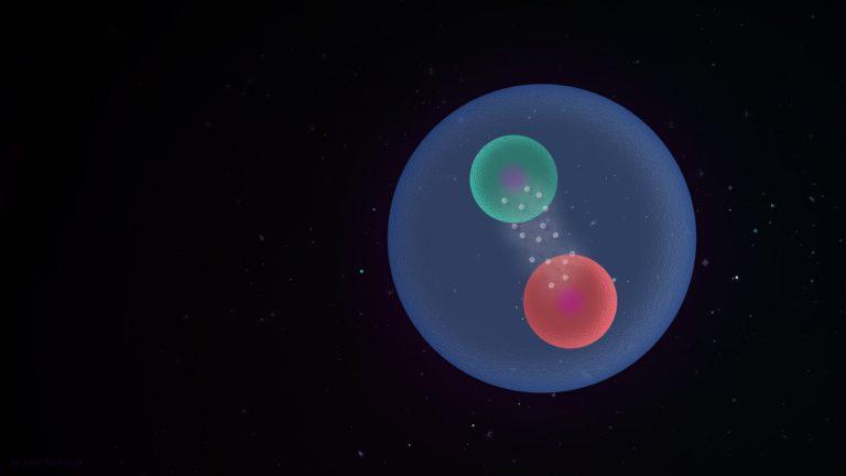 Mezony i oscylujące kwarki