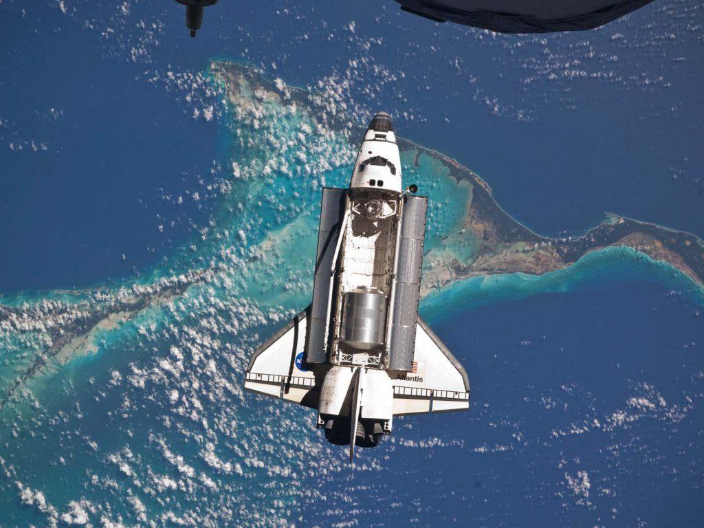 Ładownia promu kosmicznego Atlantis